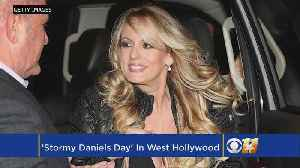 News video: California's West Hollywood declares 'Stormy Daniels Day'
