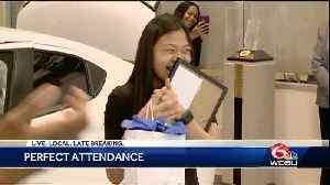News video: New Orleans senior gets new ride for perfect attendance
