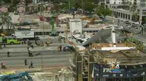 News video: NTSB To Focus On Construction, Cracks In FIU Bridge Collapse