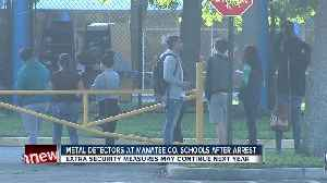 News video: Metal detectors, no backpacks after student arrested for having loaded gun at Bradenton high school