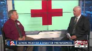 News video: 2 Works for You Midday interview: 'Be Red Cross Ready'