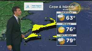 News video: WBZ Evening Forecast For May 23
