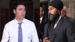 News video: Pipeline battles: Federal NDP, Liberals fall on opposite sides