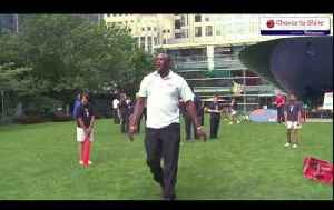 News video: Chance To Shine Canary Wharf Cricket Challenge