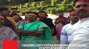News video: Vaishno Devi Yatra Remains Suspended Due To Forest Fire