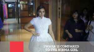News video: Swara Is Compared To The Nirma Girl
