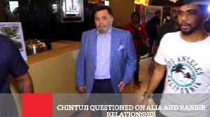 News video: Chintuji Questioned On Alia And Ranbir Relationship