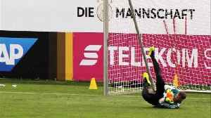 News video: Germany's Neuer injury-free at start of pre-World Cup camp