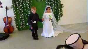 News video: Royal wedding: pint-sized edition