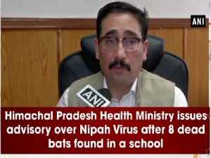 News video: Himachal Pradesh Health Ministry issues advisory over Nipah Virus after 8 dead bats found in a school