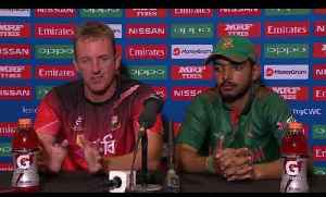 News video: Cricket World TV - Bangladesh Captain and Coach on Loss to India | QF ICC u19 World 2018