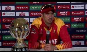 News video: Zimbabwe Captain Graeme Cremer Press Conference | Cricket World TV