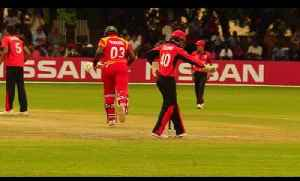 News video: Match Highlights from Zimbabwe v Hong Kong | ICC World Cup Qualifier 2018