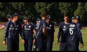 News video: Scotland v United Arab Emirates Highlights | ICC World Cup Qualifier 2018