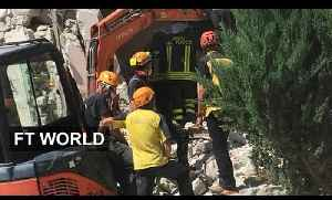News video: Deadly earthquake strikes central Italy | FT World