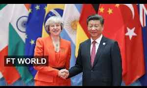 News video: G20: China and Britain's relationship sours | FT World