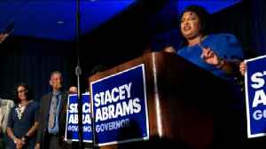 News video: Georgia Democrats elect first black woman to be a major party nominee for governor