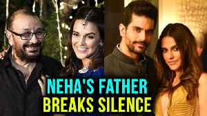 News video: Neha Dhupia's Father Gives Daughter's Pregnancy Details | Neha Dhupia Angad Bedi Wedding