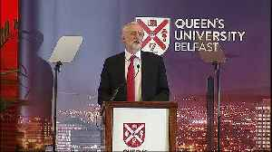 News video: Corbyn: Brexit deal cannot include return to hard border