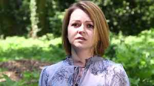 News video: Yulia Skripal Films First Public Statement With Red Neck Scar