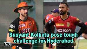 News video: IPL 2018 | Play Offs | Buoyant Kolkata pose tough challenge for Hyderabad