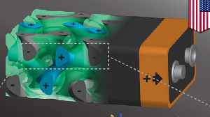 News video: This battery could charge your smartphone almost instantly