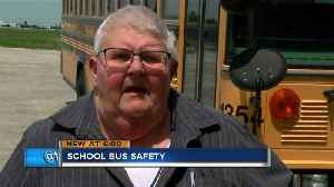 News video: School bus official says seat belts are not needed for child safety