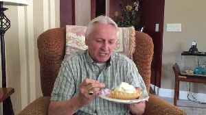 News video: Man Really Loves Pie And His Neighbor Gary