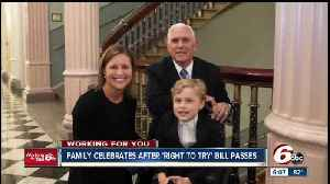 News video: Bill inspired by Indy boy headed to president's desk