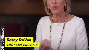News video: Betsy DeVos Disgraces Herself on '60 Minutes'