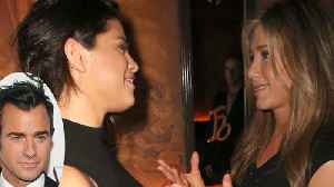 News video: Selena Gomez CONFRONTED By Jennifer Anniston Over Justin Theroux Dating Rumour!