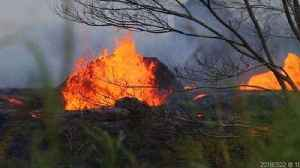 News video: Lava Spews From Fissures in Hawaii's Leilani Estates