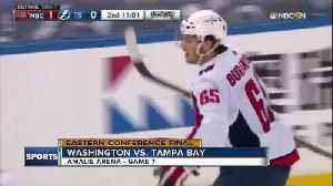 News video: Alex Ovechkin and Braden Holtsby shine in Game 7, Washington Caps beat Tampa Bay Lightning 4-0