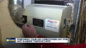 News video: Getting your air conditioner ready for summer