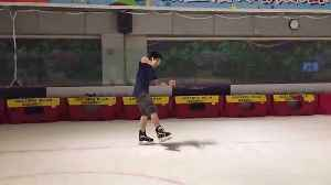 News video: Never Talk On A Phone And Skate At The Same Time