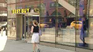News video: Best Buy sales surge but outlook a concern