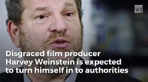 News video: Developing Report: Harvey Weinstein to Surrender To Authorities in New York