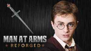 News video: Sword of Gryffindor - Harry Potter - MAN AT ARMS:REFORGED