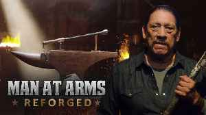 News video: Trench Club from Battlefield 1 - MAN AT ARMS feat. Danny Trejo