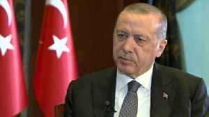 News video: Turkey looks to develop UK relations