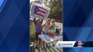 News video: 5 For Good: 'Hurricane helpers' from Mass. raise money for Puerto Rico