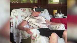 News video: Old Woman's Hilarious Reaction To Virtual Reality Experience