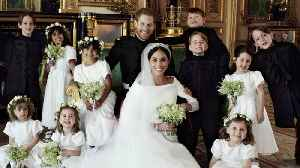 News video: Royal Wedding Photographer Bribed Kids With Candy For Perfect Shot