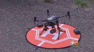 News video: Drone Helps Crews Fight Wildfires, Find Missing People