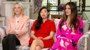 News video: Why the 'Ocean's 8' Cast Deleted Their Group Text Chat