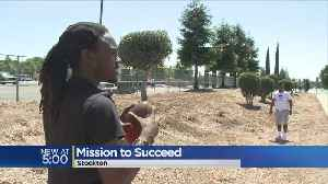 News video: Former Stockton Students Hope To Give Back To Community