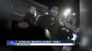 News video: Police release video of Milwaukee Bucks player Sterling Brown's January Walgreens arrest