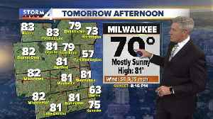 News video: Another beautiful sunny day Thursday