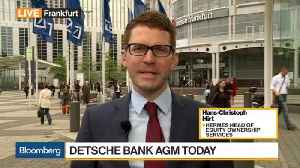 News video: Deutsche Bank's Achleitner Is Running Out of Chances, Shareholder Says