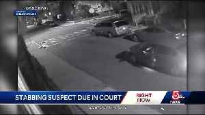 News video: Suspect in waitress slashing due in court